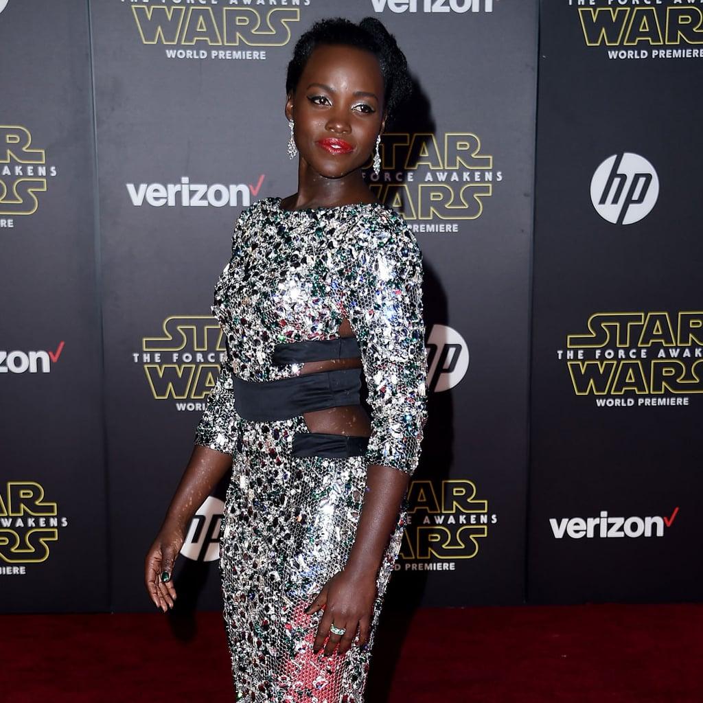 Lupita Nyong'o's Dress at the Star Wars Premiere