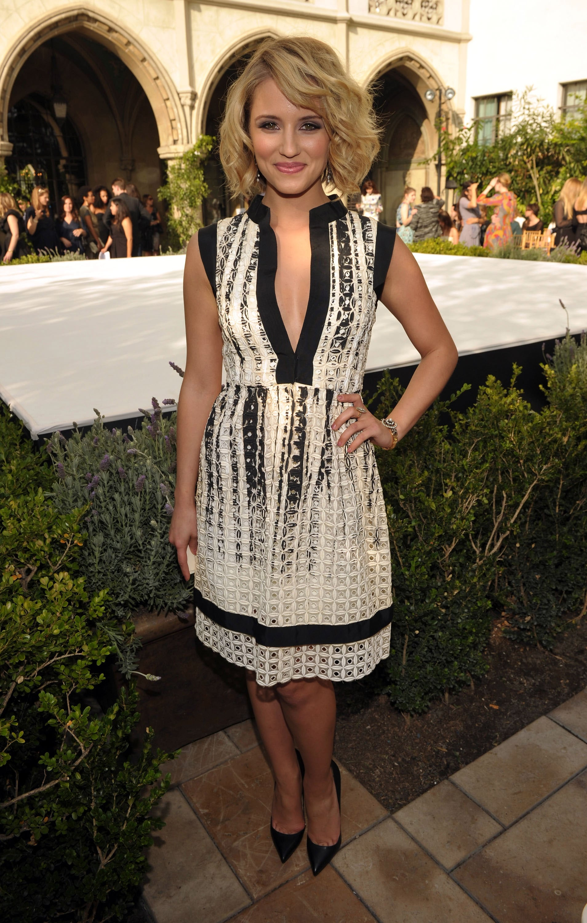 Dianna Agron attended a party in honor of the CFDA Vogue Fashion Fund Finalists in LA.