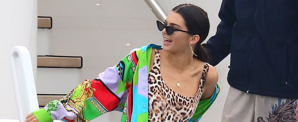 Kendall Jenner Mixes 2 Unexpected Prints With Her Swimsuit – and It Works