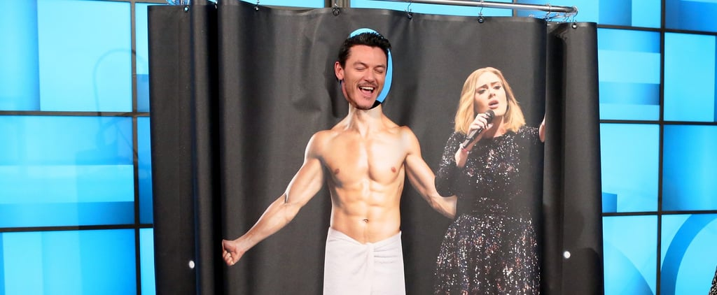 Luke Evans Singing Adele in the Shower Will Do Things to Your Heart