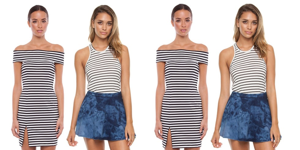 Shop Striped T-shirts and Dresses