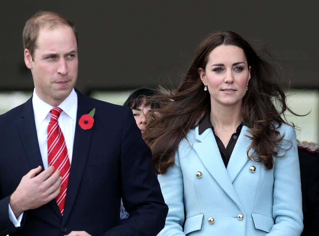 Pregnant Kate Teams Up With William For a Trip to Wales