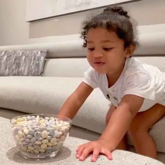 Watch Stormi Webster Pass Instagram's Candy Challenge