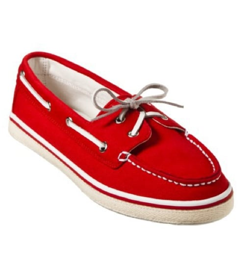 Embrace your sailor style with a classic pair of boat shoes. Target Women's Xhilaration Sandi Canvas Boat Shoes ($17)