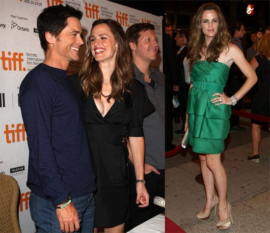 Photos of Jennifer Garner, Rob Lowe, Ricky Gervais at 2009 Toronto Film Festival Premiering The Invention of Lying 2009-09-15 05:00:00