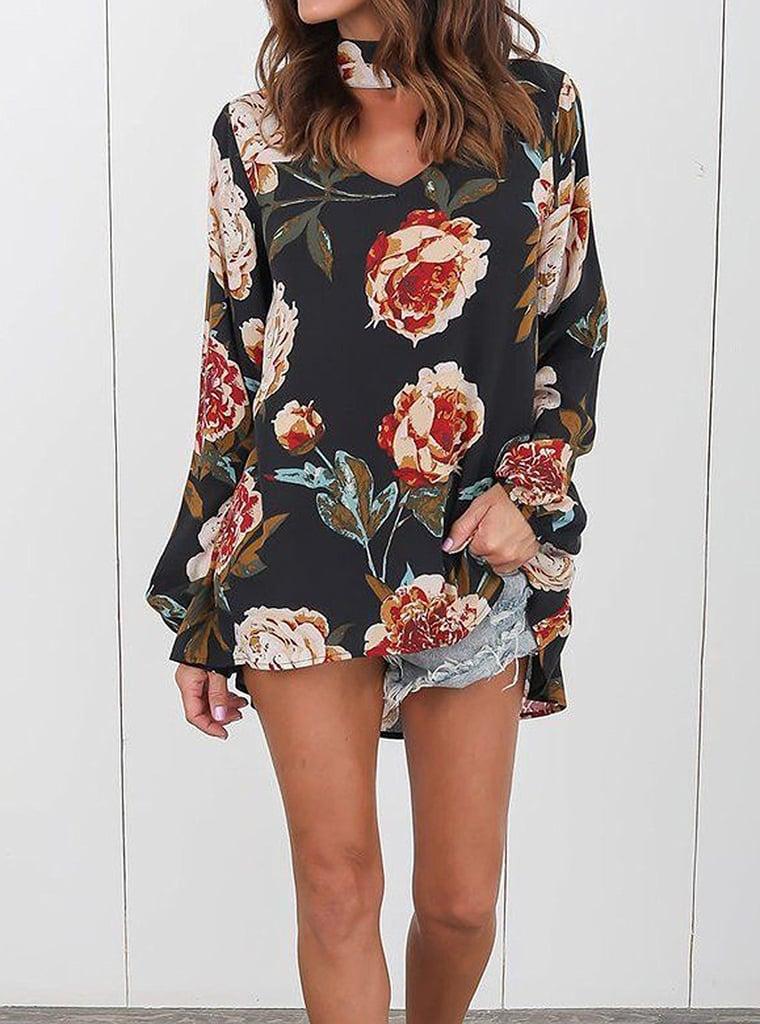 Hibluco Floral Top