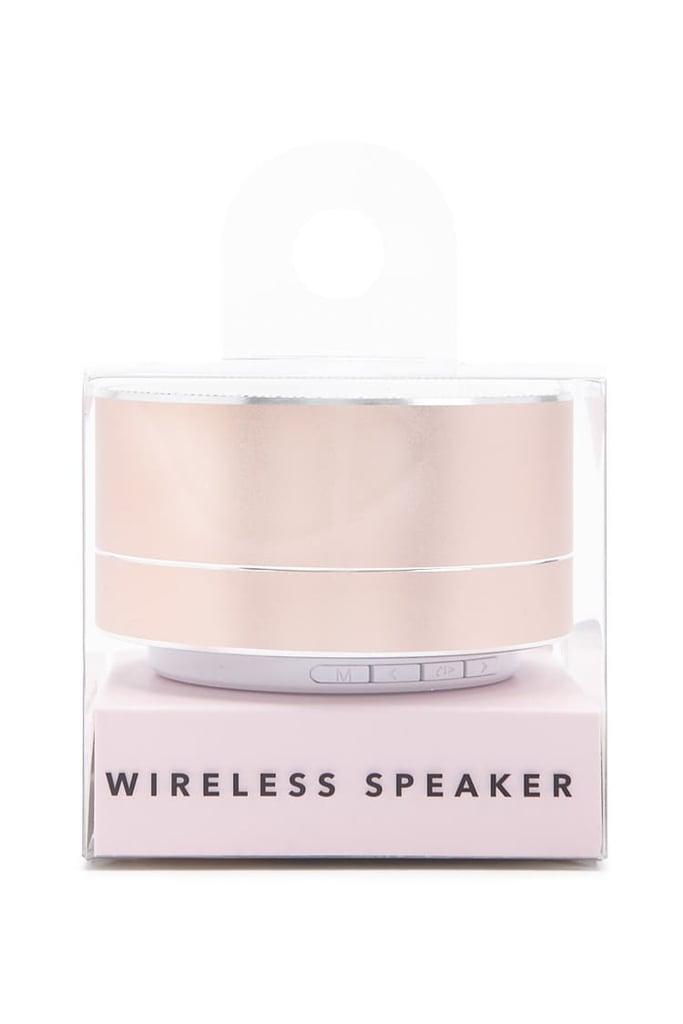 Metallic Wireless Speaker
