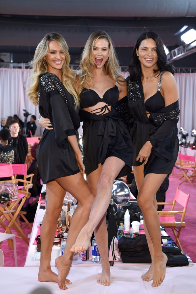 180b6251f58e9 Best Candid Pictures 2018 Victoria's Secret Fashion Show | POPSUGAR ...