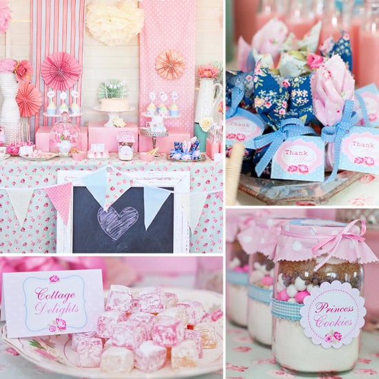 A Shabby-Chic Party Fit For a Princess