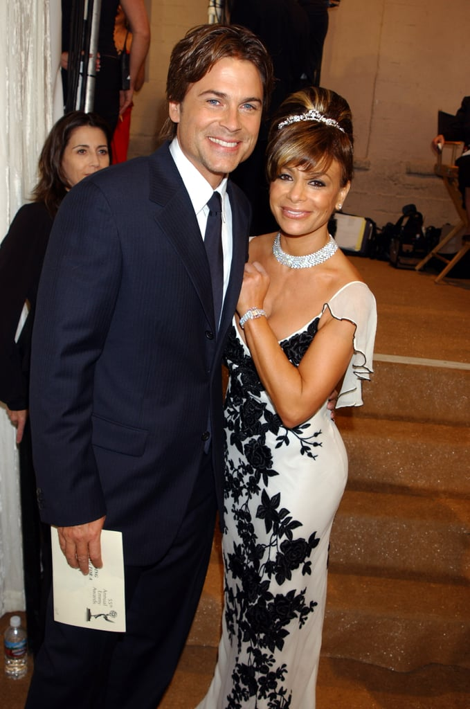 Paula Abdul crossed paths with Rob Lowe in 2003.