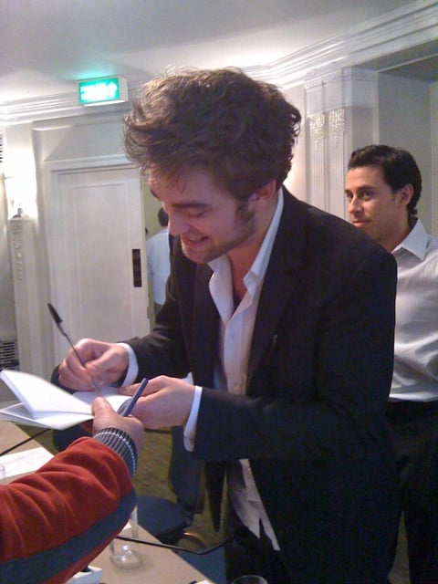 Photos of Rob in London