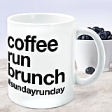 Coffee Run Brunch Mug