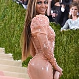 Beyonce Makeup and Hair at the Met Gala 2016