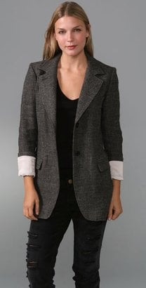 Affordable Tweed Blazer