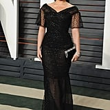 February at the Vanity Fair Oscar Party in Los Angeles