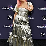 Liza Owen at Instagram's 2020 Grammy Luncheon in LA
