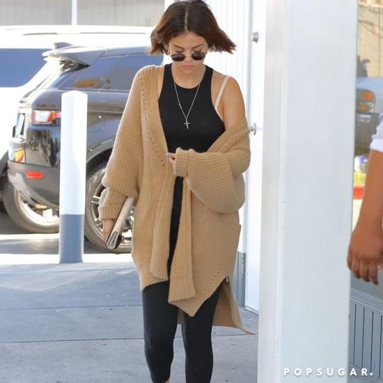 Selena Gomez Wearing Rainbow Socks