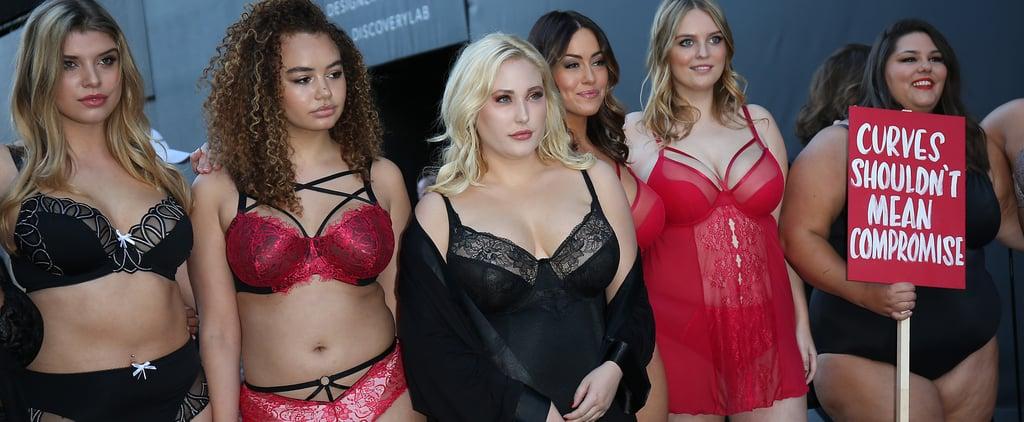 Curvy Model Protest at London Fashion Week