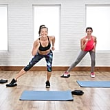 Disc Slider Ab Exercises Popsugar Fitness