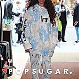 Camila Cabello Wearing Her Tie-Dye Liar Hoodie in Paris