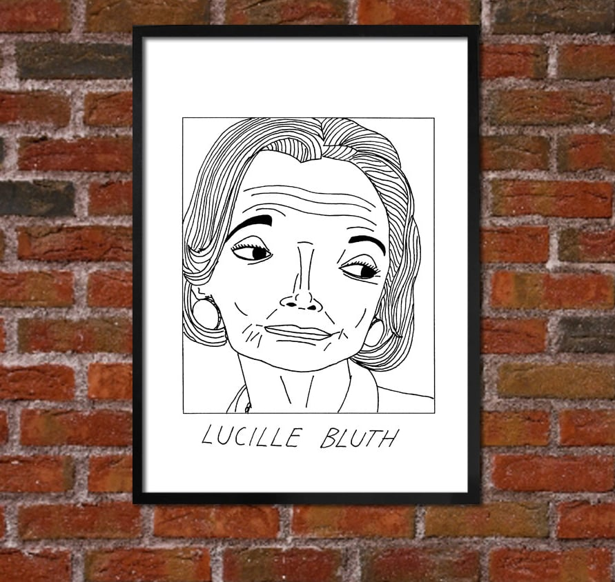 Lucille Bluth Doodle ($10)