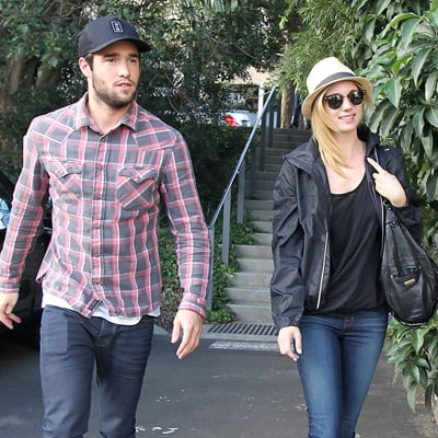 Emily VanCamp and Joshua Bowman Pictures in Sydney to Promote Revenge