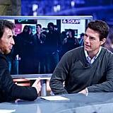 Tom Cruise visited El Hormiguero.