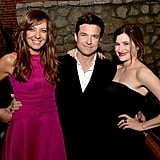 Jason Bateman joined Allison Janney and Kathryn Hahn at the premiere of Bad Words in LA on Wednesday.