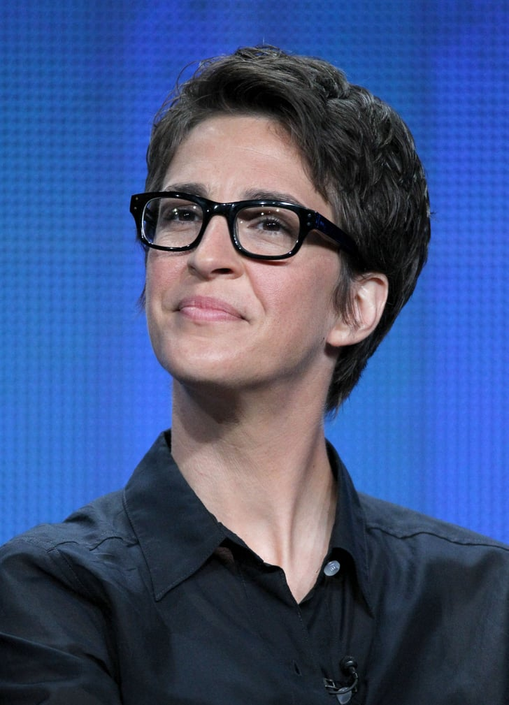 Rachel Maddow Celebrities In Glasses Popsugar Love
