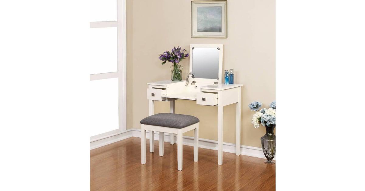 Linon Kayden Vanity Set Cheap Vanities Popsugar Home