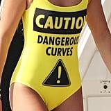 Sofia Richie Caution Moschino Swimsuit July 2016
