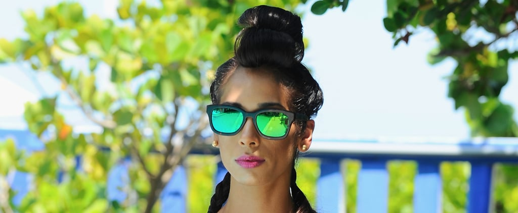It's All About Tropical Shades and Mermaid Plaits at Miami Swim Week