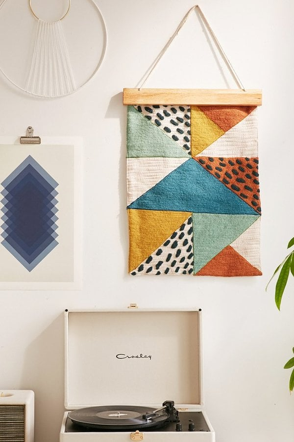 Anni Crewel Wall Hanging ($69)