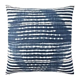 We're still shibori obsessed, and while some designer versions can climb into the double digits, this shibori pillow cover ($46) from Pottery Barn is available under $50.  — AE