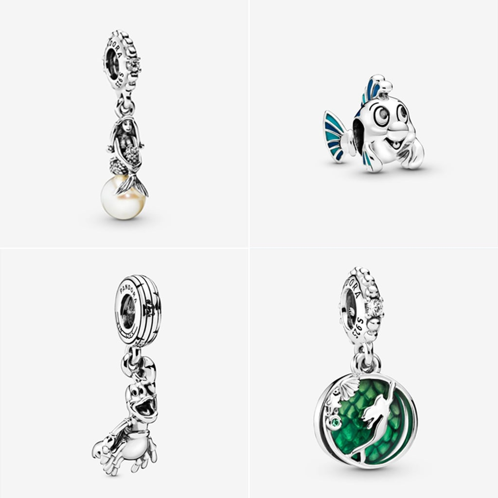 Pandora Launches a Little Mermaid Charm Collection