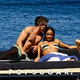 Zac Efron and Michelle Rodriguez Kissing in Italy