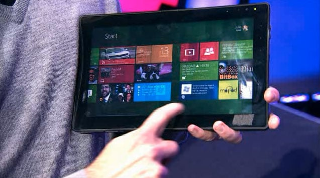 Windows 8 Tablet Screenshots