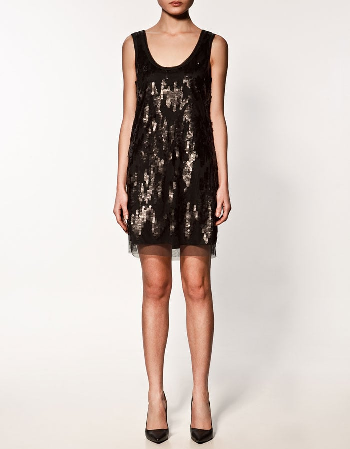 A Glittery, Holiday-Perfect Cocktail Dress ($90)