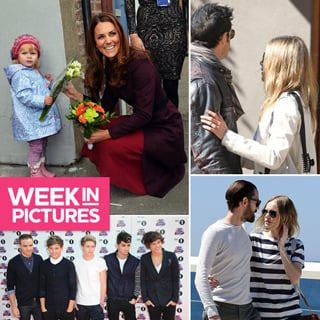 Celebrity Pictures: Jennifer Aniston's Engagement Ring, Blake Lively Married, Kate Middleton, One Direction, Kristen Stewart