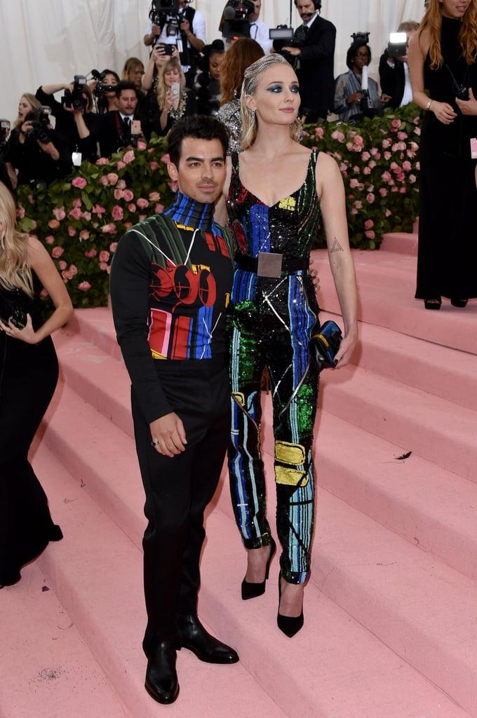 Joe Jonas and Sophie Turner at the 2019 Met Gala