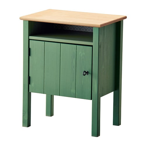 Hurdal Green Nightstand ($100)