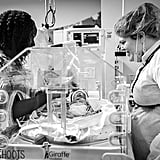 Photos of Nurses Helping Moms After Birth