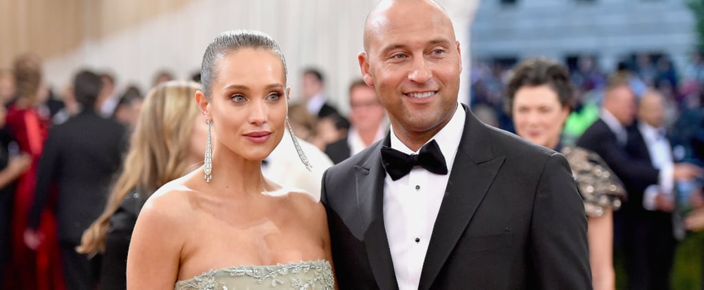 "Hannah Davis Changed Into a Partially Sheer Gown After Saying ""I Do"" to Derek Jeter"