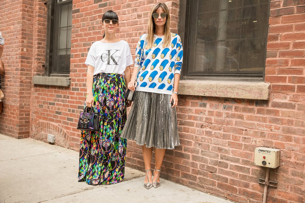 Flashy, Flouncy Skirts, a Comfortable Top, and Your Sunglasses