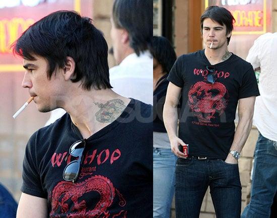 Josh Hart-Neck-Tattoo Looks Tough