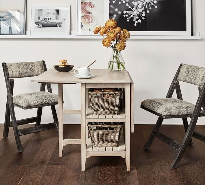 Pottery barn small space collection popsugar home - George small spaces collection ...