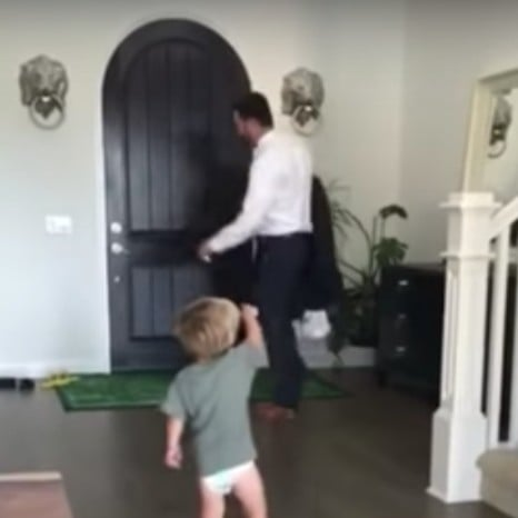 Video of Boy Calling His Dad a Fart Machine
