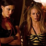 Phoebe Tonkin as Faye and Britt Robertson as Cassie on The Secret Circle.  Photo courtesy of The CW