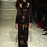 Joan Smalls in the Tom Ford Runway Show