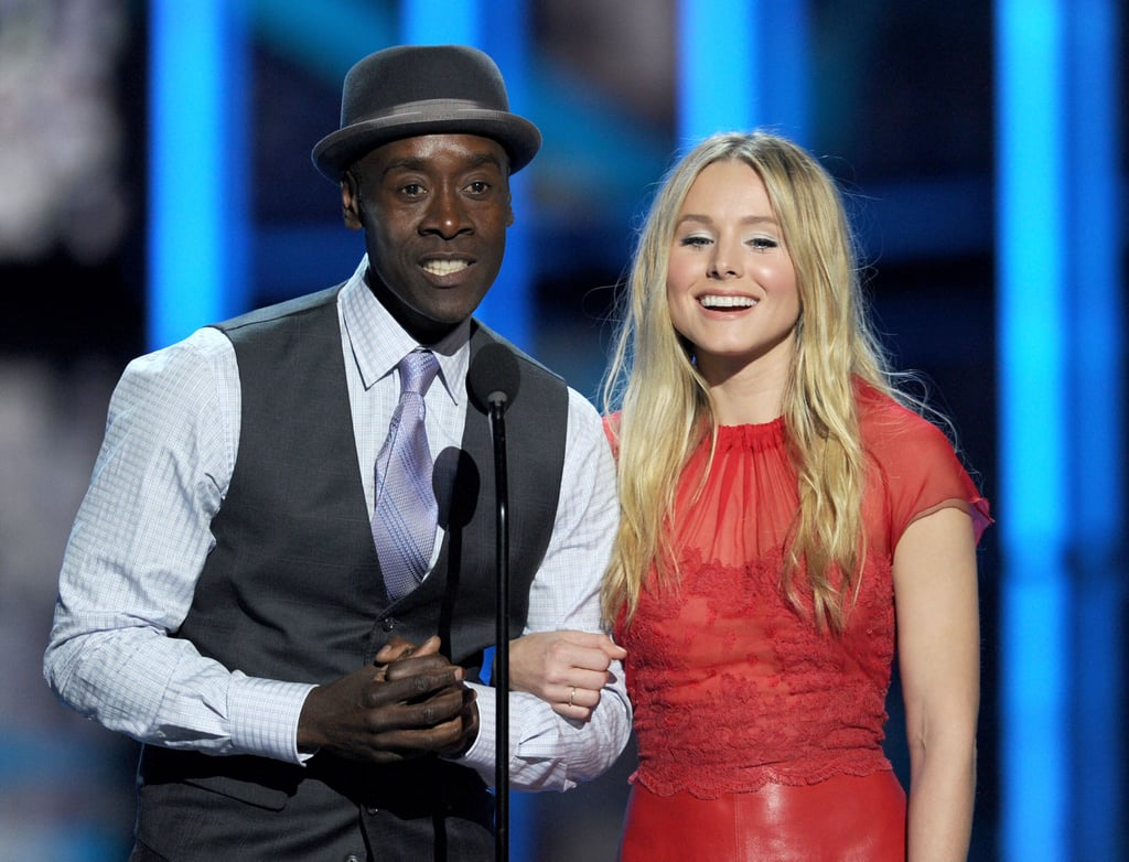 Don Cheadle and Kristen Bell